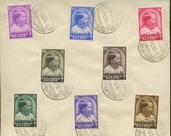 1936. 1er Dec Premier Jour. (voir Ø) Prince Baudouin  Très Frais - FDC
