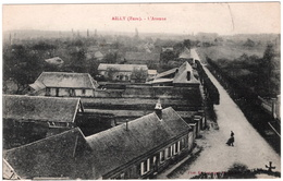 CPA DE AILLY  (EURE)  L'AVENUE - Sonstige Gemeinden