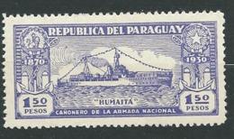Paraguay  - Yvert N° 325 *  -  Ay 14701 - Paraguay