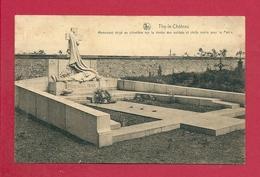 C.P. Thy-le-Château = Cimetière : Monument Sur La Tombe Des Soldats Et  Civils - Walcourt