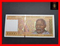 MADAGASCAR 10.000  10000 Francs 1995 P. 79 B   UNC - Madagascar