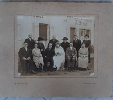 Photographie Marriage à L'Hotel Des Voyageurs F. Baron à Thoissey Ain 01 Photo Dotta - Plaatsen