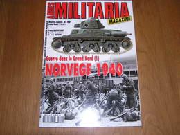 ARMES MILITARIA Magazine Hors Série N° 49 Guerre 40 45 Norvège 1940 Narvik Danemark Oslo Corps Expéditionnaire - War 1939-45
