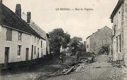 LE MESNIL Rue De Oignies. Postée 1927. Prés De Vierves. - Belgique