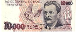 Brazil P.233b  10000 Cruzeiros 1993 Unc - Brésil