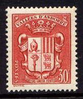 ANDORRE - 54** - ARMOIRIES DES VALLEES - Unused Stamps