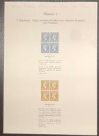 France - Gravure - Collection Historique Du Timbre - Planche 2 - Cérès - 1852 - Postdokumente