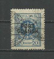 Danzig , Port Gdansk - Mi. Nr. 7 , Used - Danzig