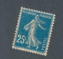 FRANCE - N°YT 140 NEUF** VARIETE POINT BLEU - 1907 - COTE YT: 6.00€ - Variétés Et Curiosités
