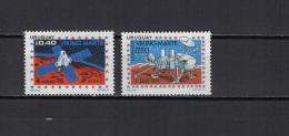 Uruguay 1976 US Bicentennial, Space 2 Stamps MNH - Südamerika