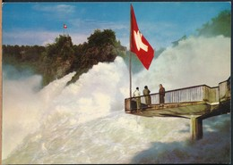 °°° 19420 - SVIZZERA - SH - RHEINFALL - 1981 With Stamps °°° - SH Schaffhouse