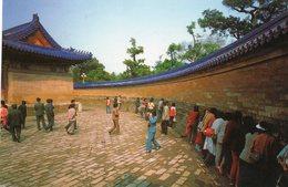Pékin - Mur De L ' Echo / The Echo Wall ( Nice Stamp) - Cina