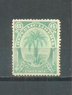 Liberia 1892 MLH - Liberia