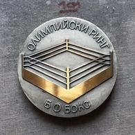 Medal Plaque Plakette PL000133 - Boxing Bulgaria Federation Association Union - Boksen