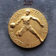 Medal Plaque Plakette PL000135 - Basketball FIBA Yugoslavia Serbia Beograd Belgrade 1968 - Sports