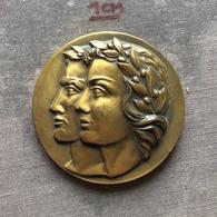 Medal Plaque Plakette PL000140 - Ministry Of Sport France JEUNESSE ET SPORTS - Olympische Spiele