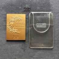 Medal Plaque Plakette PL000141 - Army Military Sweden Sport Association (Sveriges Militära Idrottsförbund) 1979 - Olympische Spiele