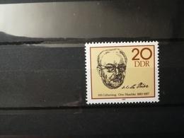 FRANCOBOLLI STAMPS GERMANIA DEUTSCHE DDR 1983 MNH** NUOVI 100 ANNI ANNIVERSARY OTTO NUSCHKE GERMANY - [6] Repubblica Democratica