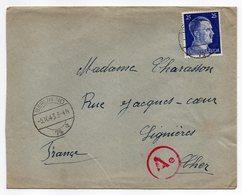 Allemagne -- 1943-- Tp N° 717 Sur Lettre  De Berlin N°74a   Pour LIGNIERES-18 (France)...cachet  Ae.........à Saisir - Brieven En Documenten