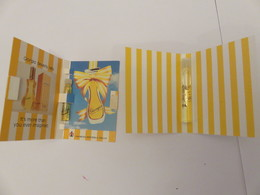 Echantillon ,tube Sur Carton  G B Hills - Perfume Samples (testers)