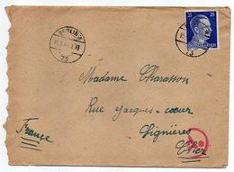 Allemagne -- 1944-- Tp N° 717 Sur Lettre  De Berlin N° 73   Pour LIGNIERES-18 (France)....cachet Ae........à Saisir - Brieven En Documenten