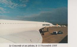 LE CONCORDE - 2 VUES - LE 11.11.1995 A METZ-NANCY LORRAINE - Zonder Classificatie