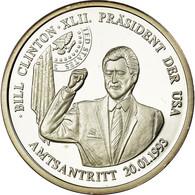 United States Of America, Médaille, Bill Clinton, Président Des Etats Unis - Etats-Unis