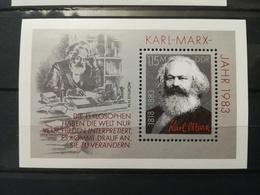 FRANCOBOLLI STAMPS GERMANIA DEUTSCHE DDR 1983 MNH** NUOVI 100 ANNI ANNIVERSARY DEATH KARL MARX GERMANY - [6] Repubblica Democratica