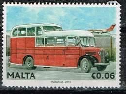 Malta 2013,Michel# 1825 O Airport Bus, 1950s - Malta