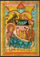 C8566 - Glückwunschkarte Weihnachten - Weihnachtskrippe Krippe Geburt Christi - Kirchlicher Kunstverlag Dresden - Auguri - Feste