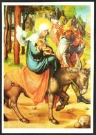 D2731 - Albrecht Dürer Künstlerkarte - Weihnachtskrippe Krippe Geburt Christi - Kunstpostkalender - Auguri - Feste