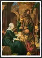 A1453 - Albrecht Dürer Künstlerkarte - Weihnachtskrippe Krippe Anbetung Der Könige - Verlag Seemann - Auguri - Feste