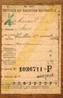 Fiche Mod.40 T Demande Transfert   LIVRET D'EPARGNE CGER ASLK  Obl MARCINELLE  Et THUILLIES  1911  + Griffe Linéaire - Marcophilie