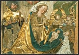 6222 - Glückwunschkarte - Weihnachtskrippe Krippe Geburt Christi - Auguri - Feste