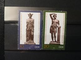 FRANCOBOLLI STAMPS GERMANIA DEUTSCHE DDR 1983 MNH** NUOVI SERIE COMPLETA COMPLETE SCULTURE SCULPTURES GERMANY - [6] Repubblica Democratica
