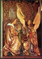 D4298 - Mörlbach Gotischer Altar Weihnachten - Weihnachtskrippe Krippe Engel Angel - Natale