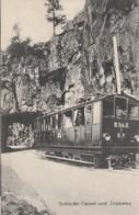 Schlucht Tunnel Und Tramway - France