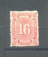 Liberia 1882 MLH - Liberia