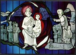 D4305 - Klappkarte Weihnachten - Weihnachtskrippe Krippe - Leo Janischowsky - Pfarrkirche Dortmund - Auguri - Feste