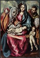 D4310 - Greco Künstlerkarte Weihnachten - Weihnachtskrippe Krippe - Museo Del Prado - Auguri - Feste