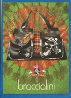 CPM Publicitaire Accessoire De Mode Femme SAC BRACCIALINI - LOT De  2 Cartes Collection 2006/2007 - Moda