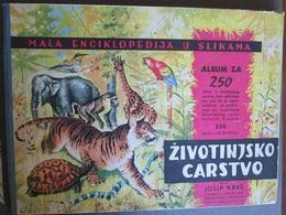 ANIMAL KINGDOM, 1969 RARE ALBUM WITH 190 STICKERS AND 23 DUPLICATES, ALBUM ŽIVOTINJSKO CARSTVO - Sonstige