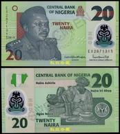 Nigeria 20 Naira, (2019), Sign.6:Godwin-Priscilla 7 Digit Numbers, Polymer, UNC - Nigeria