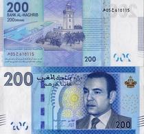 MOROCCO 200 DIRHAMS From 2012, P77, UNC - Marokko