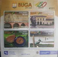 U) 2020,  COLOMBIA, GUADALAJARA DE BUGA, 450 YEARS OF ITS FOUNDATION,  LIBERTY BRIDGE, RODRIGO DIEZ DE FUENMAYOR, SONSO - Colombia