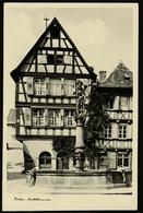 Bretten  -  Marktbrunnen  -  Ansichtskarte Ca.1954    (12622) - Bretten