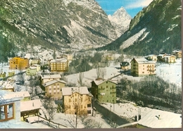 Italy & Circulated,Greetings From Antey-Saint-André, Panorama, Noisy-le-Grand France 1977 (1167) - Monuments