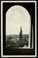 Bretten  -  Durchblick Auf Die Ev. Kirche  -  Ansichtskarte Ca.1954    (12620) - Bretten