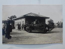 TURQUIE Gare De MAKRI-KEUY Carte-photo En état Concours - Départ Pour Le Défilé Du 14 Juillet (502/506èmes RCC) DEN1162 - Turquie