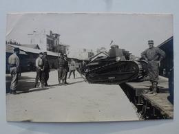 TURQUIE Gare De MAKRI-KEUY Carte-photo En état Concours - Départ Pour Le Défilé Du 14 Juillet (502/506èmes RCC) DEN1163 - Turquie